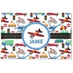 Transportation Woven Mat (Personalized)
