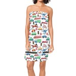 Transportation Spa / Bath Wrap (Personalized)