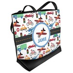 Transportation Beach Tote Bag (Personalized)