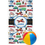 Transportation Beach Towel (Personalized)