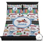 Transportation Duvet Cover Set (Personalized)