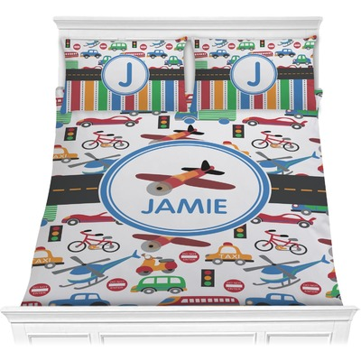 Transportation Comforters (Personalized)