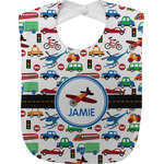 Transportation Baby Bib (Personalized)