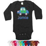 Transportation Bodysuit - Black (Personalized)