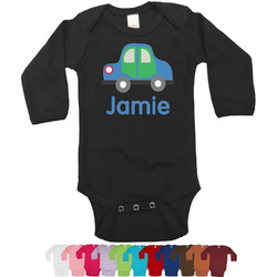 Transportation Bodysuit - Long Sleeves - 0-3 months (Personalized)