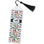 Transportation Book Mark w/Tassel (Personalized)