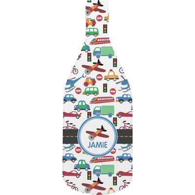 Transportation Bottle Shaped Cutting Board (Personalized)
