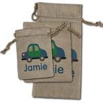 Transportation Burlap Gift Bags (Personalized)