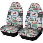 Transportation Car Seat Covers (Set of Two) (Personalized)