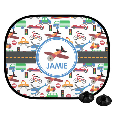 Transportation Car Side Window Sun Shade (Personalized)