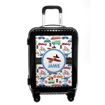 Transportation Carry On Hard Shell Suitcase (Personalized)