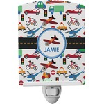 Transportation Ceramic Night Light (Personalized)