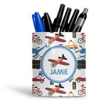 Transportation Ceramic Pen Holder