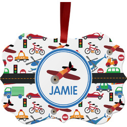 Transportation Ornament (Personalized)