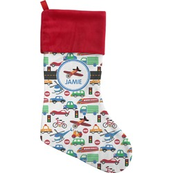 Transportation Christmas Stocking (Personalized)