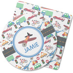 Transportation Rubber Backed Coaster (Personalized)
