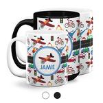 Transportation Coffee Mugs (Personalized)