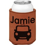 Transportation Leatherette Can Sleeve (Personalized)