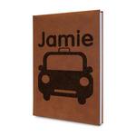 Transportation Leatherette Journal (Personalized)