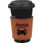 Transportation Leatherette Mug Sleeve (Personalized)