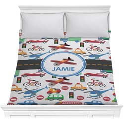 Transportation Comforter (Personalized)