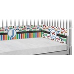 Transportation Crib Bumper Pads (Personalized)