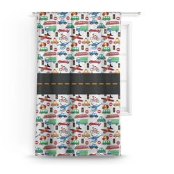 Transportation Curtain (Personalized)
