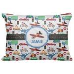 "Transportation Decorative Baby Pillowcase - 16""x12"" (Personalized)"