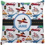 Transportation Decorative Pillow Case (Personalized)