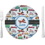Transportation Glass Lunch / Dinner Plates 10