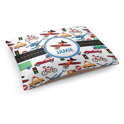 Transportation Dog Pillow Bed (Personalized)