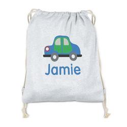 Transportation Drawstring Backpack - Sweatshirt Fleece (Personalized)