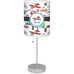"Transportation 7"" Drum Lamp with Shade (Personalized)"