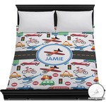 Transportation Duvet Cover (Personalized)