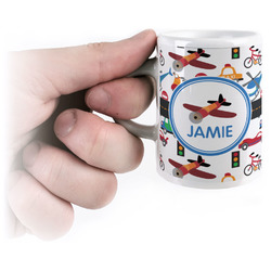 Transportation Espresso Mug - 3 oz (Personalized)
