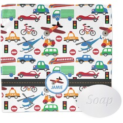 Transportation Wash Cloth (Personalized)
