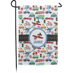 Transportation Garden Flag - Single or Double Sided (Personalized)