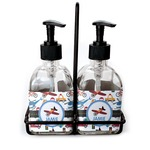 Transportation Soap & Lotion Dispenser Set (Glass) (Personalized)