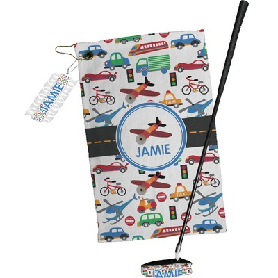 Transportation Golf Towel Gift Set (Personalized)