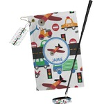 Transportation Golf Towel Gift Set (Personalized)