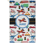 Transportation Golf Towel - Full Print - Small w/ Name or Text