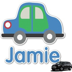 Transportation Graphic Car Decal (Personalized)
