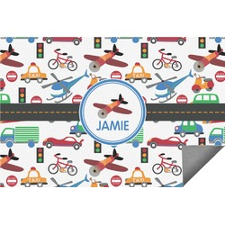 Transportation Indoor / Outdoor Rug (Personalized)