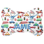 Transportation Bone Shaped Dog Food Mat (Personalized)