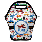 Transportation Lunch Bag w/ Name or Text