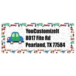 Transportation Return Address Label (Personalized)