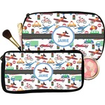 Transportation Makeup / Cosmetic Bag (Personalized)