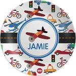 Transportation Melamine Plate - 8