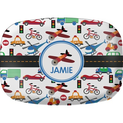 Transportation Melamine Platter (Personalized)