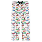 Transportation Mens Pajama Pants (Personalized)